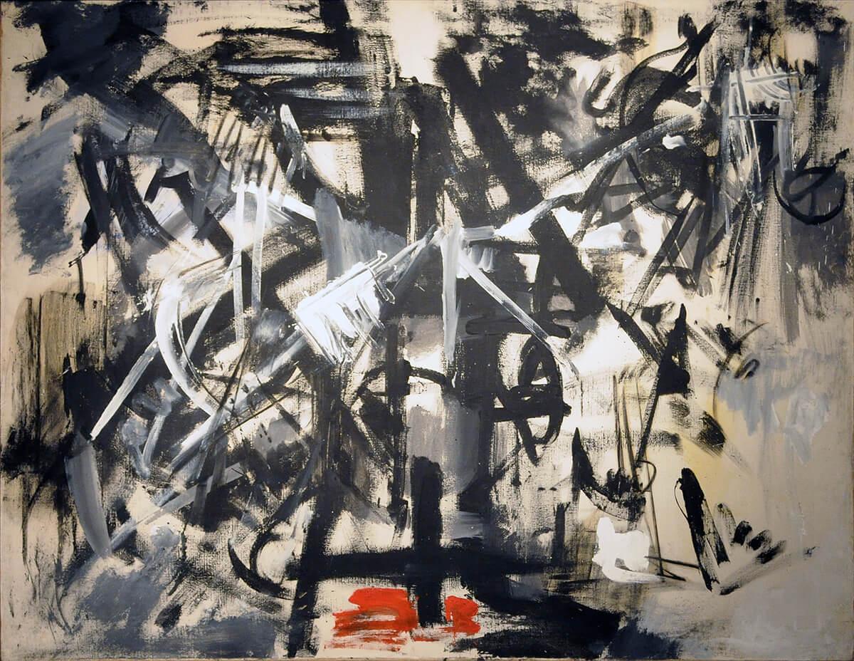 Emilio Vedova's Contemporary Crucifixion: Cycle of Protest No. 4 (1953)