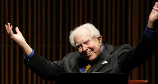 Elliott Carter, looking like he's about to drop the hottest album of the year