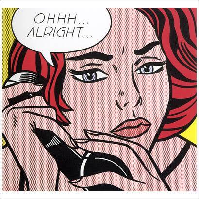 Roy Lichtenstein,  Ohhh… Alright…