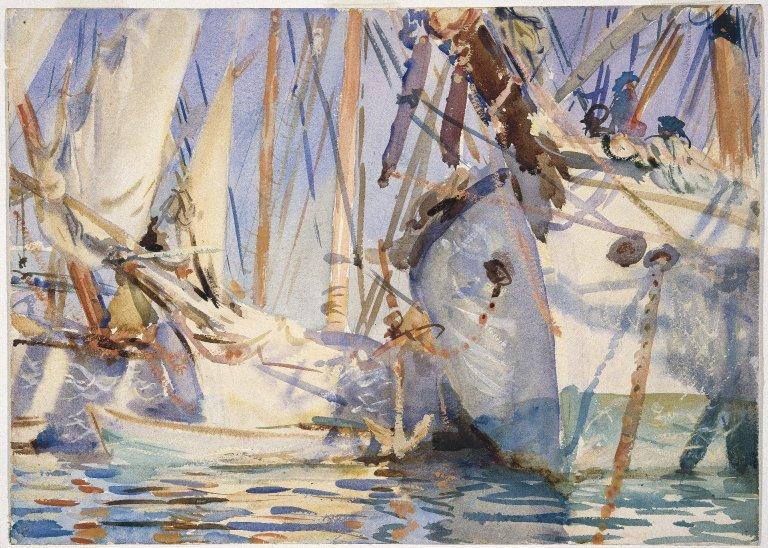 John Singer Sargent,  White Ships