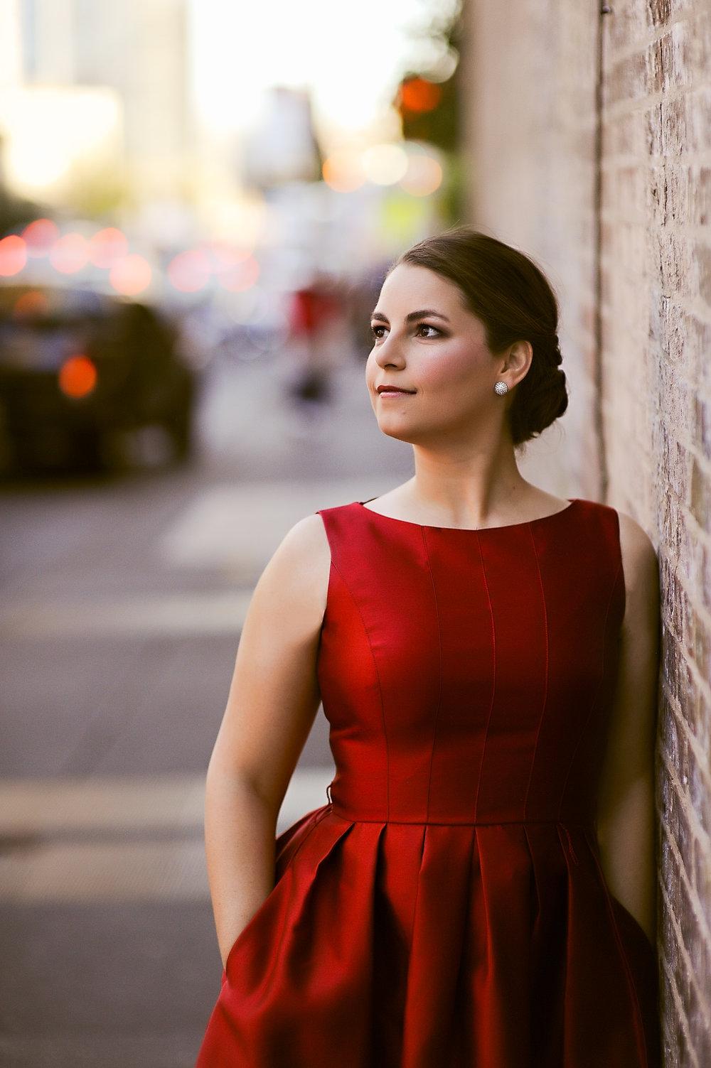Dedicatee soprano Courtney Ruckman