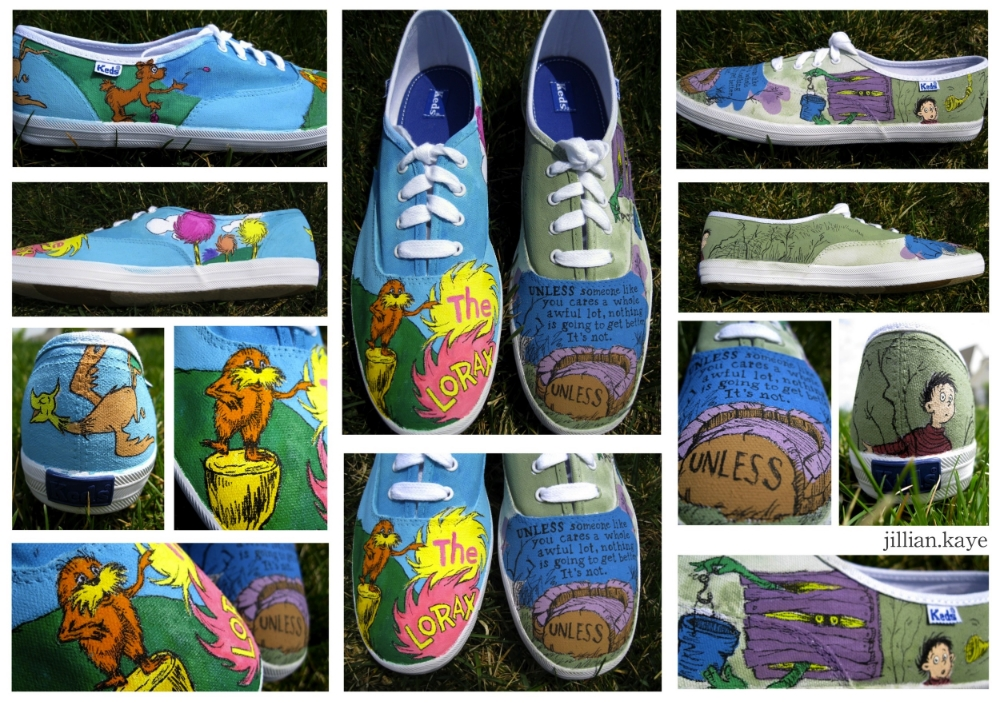 how to paint canvas shoes — Jillian