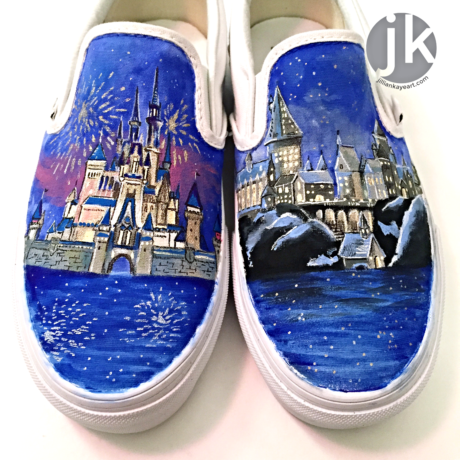 How To Paint Canvas Shoes Jillian Kaye Art