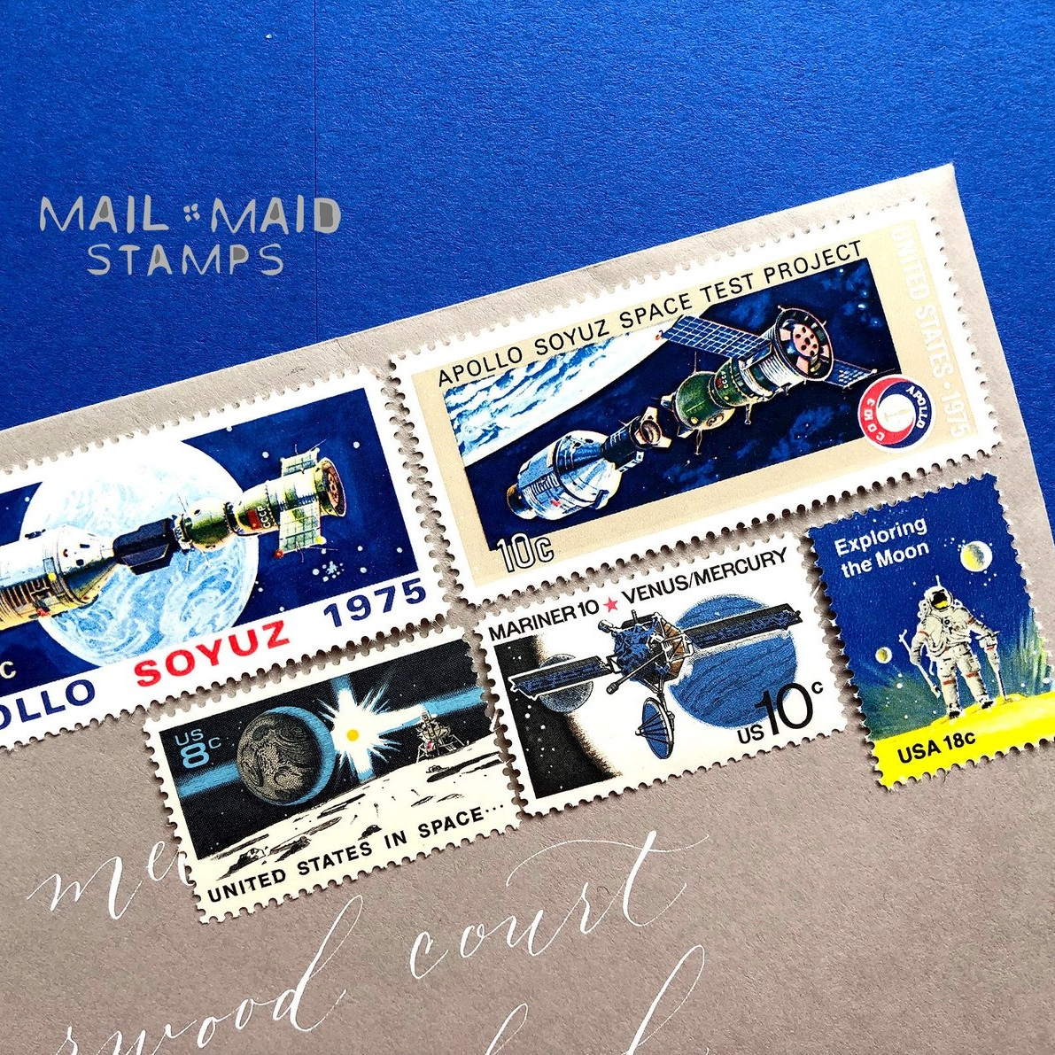 Mail Maid Stamps -