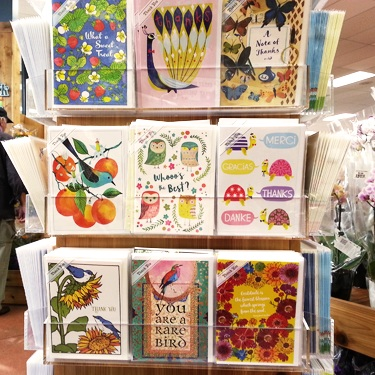 Trader Joe's - Very cute greeting cards - at only 99 cents a pop!