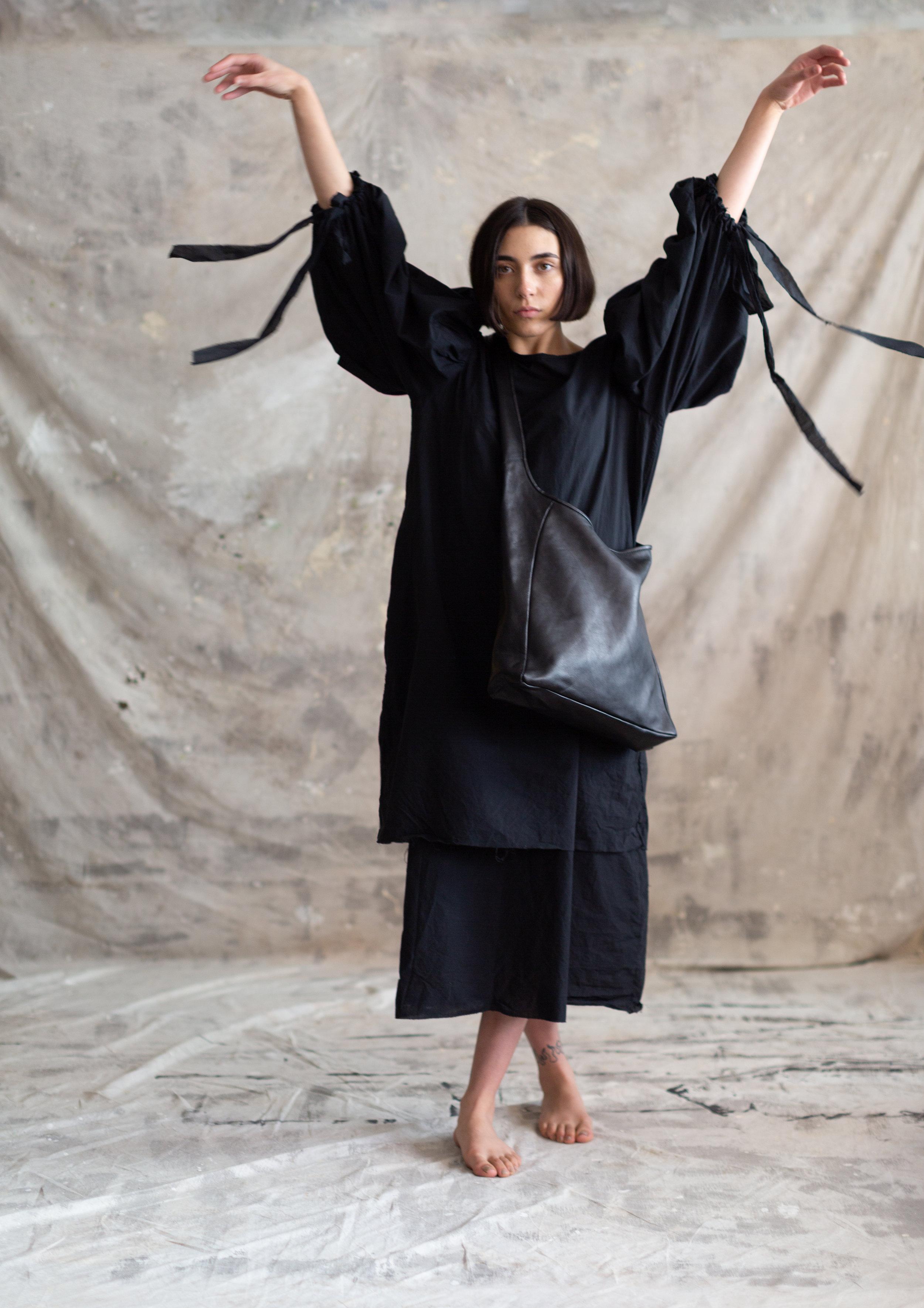 Pennyroyal Maureen in black veg tan
