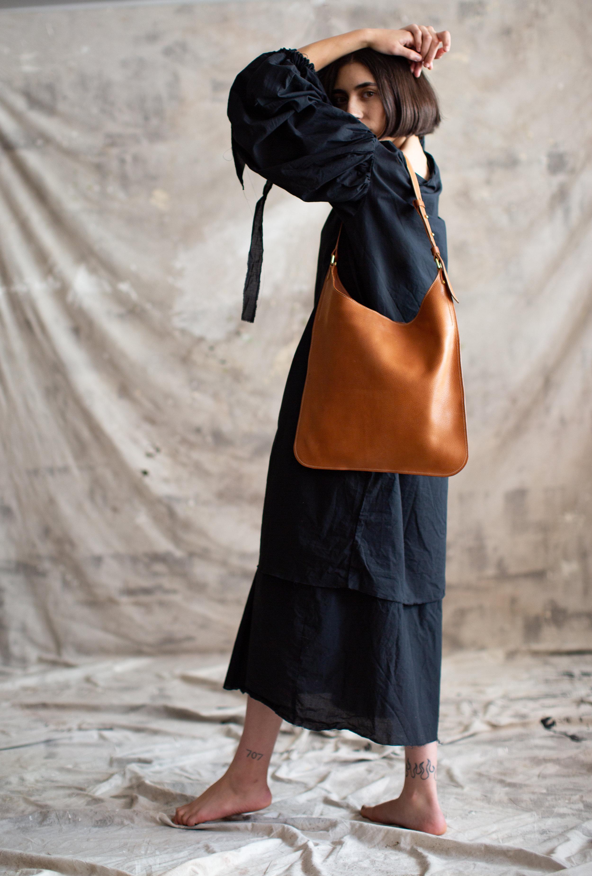 Pennyroyal Rachelle in soft pebbled veg tan leather
