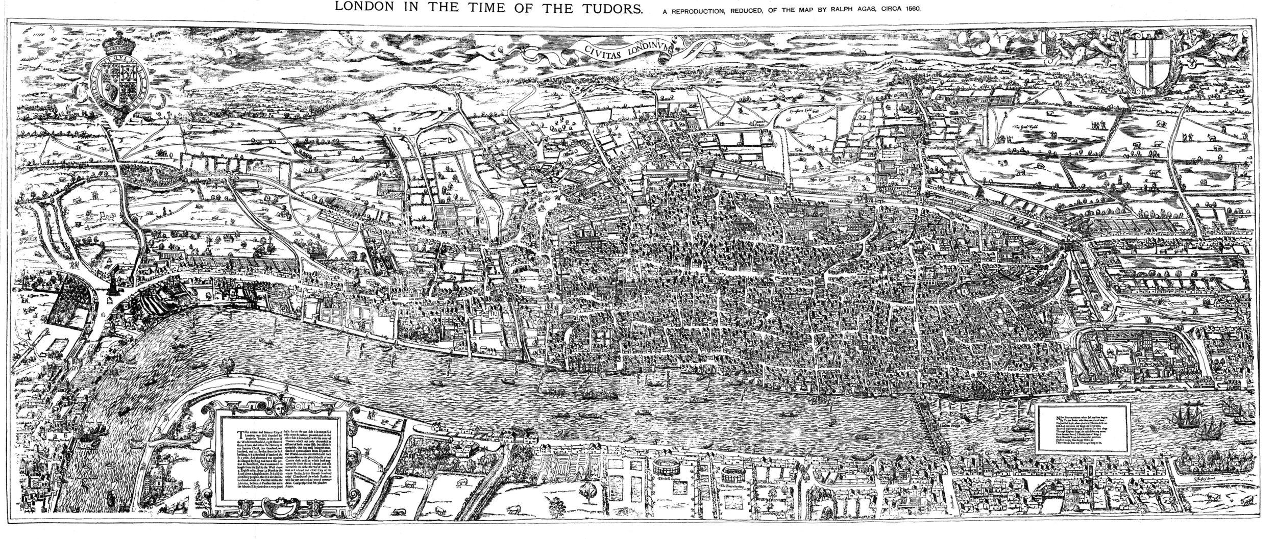 Civitas Londinum, c1559