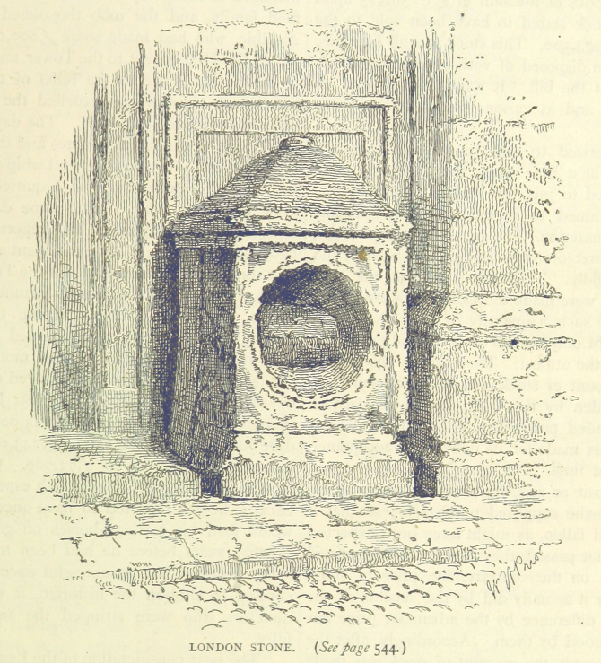 Wikipedia.Image extracted from page 559 of volume 1 of  Old and New London, Illustrated  , by  Walter Thornbury  . Original held and digitised by the British Library.