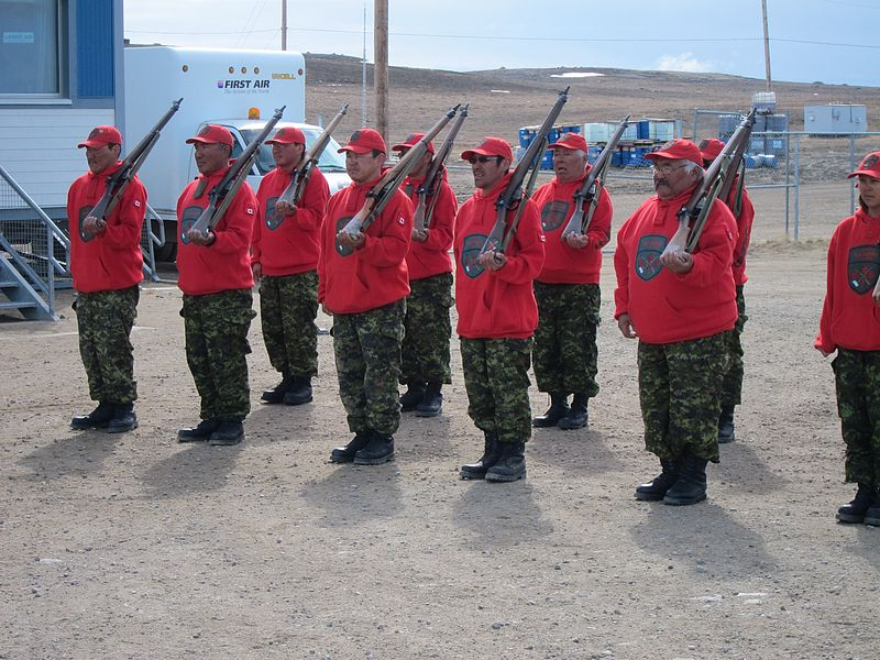 Canadian Rangers in Nunavut, Canada - The Rangers have long been Canada's force in the North.