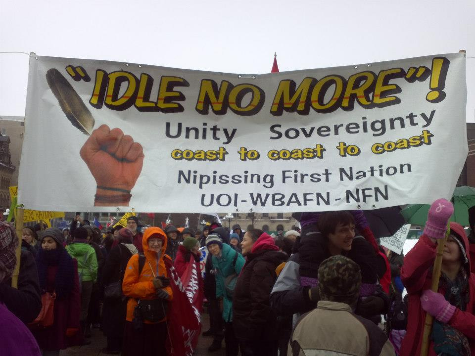 Idle No More 2013 by  Michelle Caron