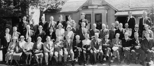 Picture of CCF founding in 1932, via  Library and Archives Canada .