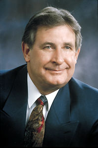 Ralph Klein, Premier of Alberta, via  Canadian Encyclopedia .