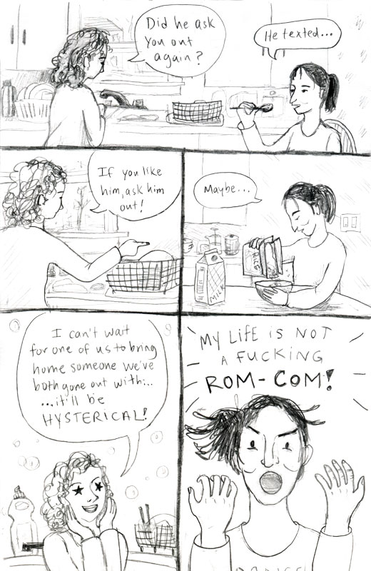RomCom Dating Comic