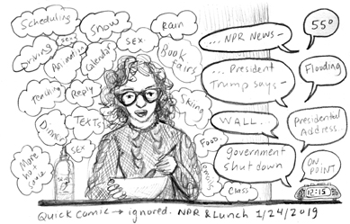 Diary Comic: Ignored