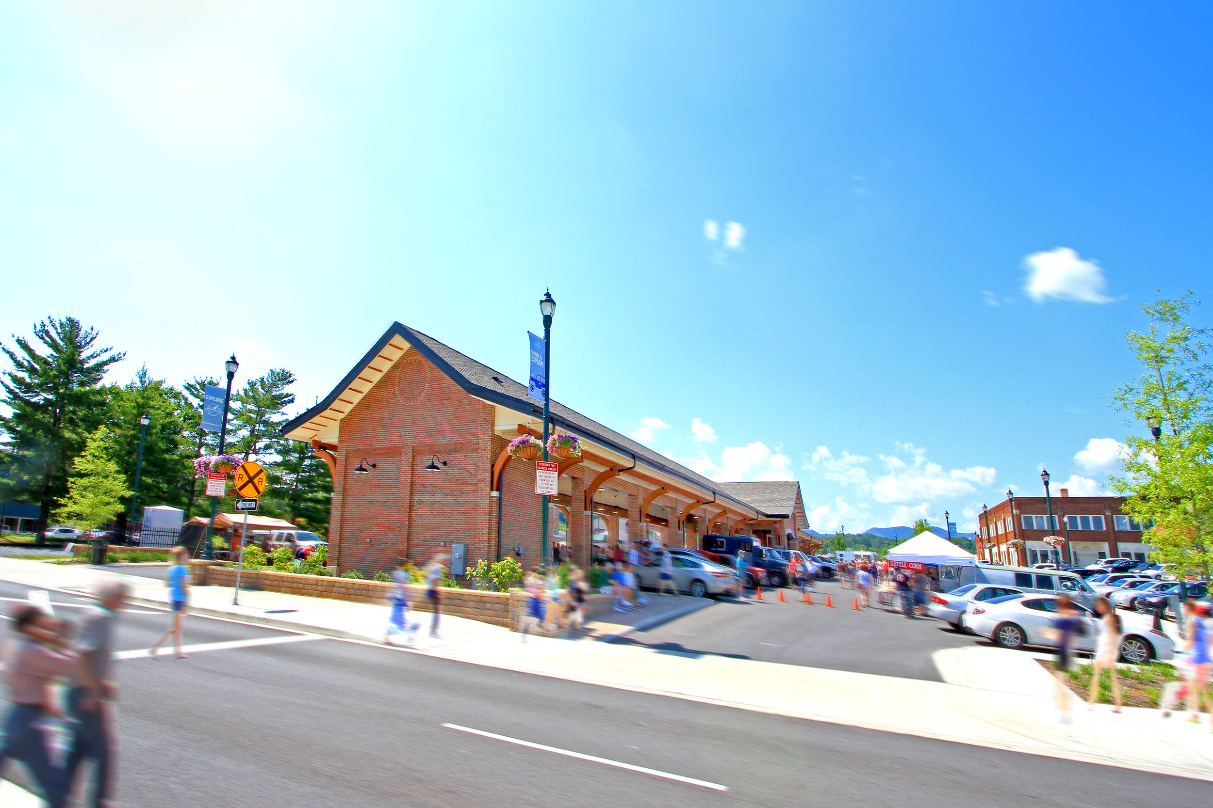 Johnson City TN Farmer's Market Pavilion
