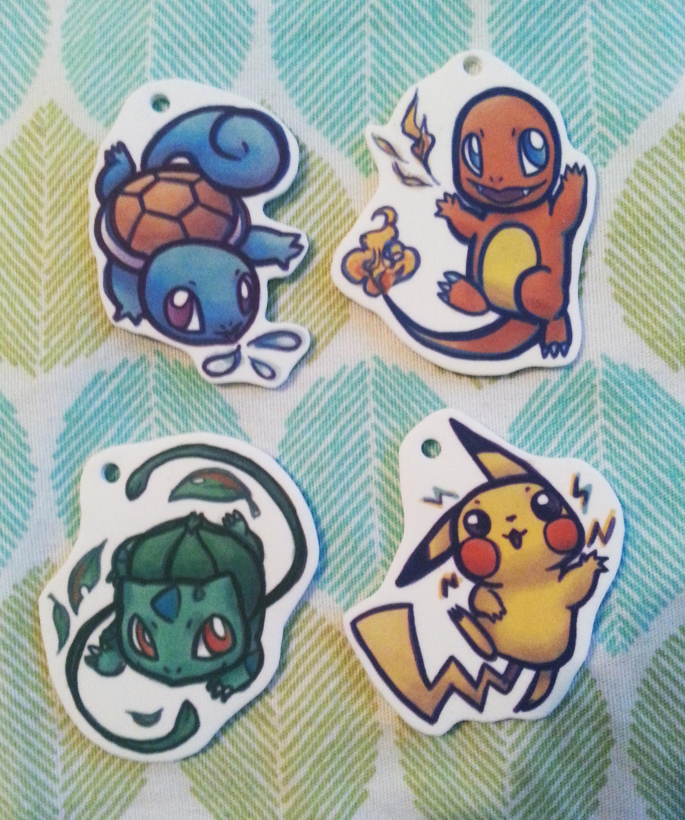 Pokemon Key Charms