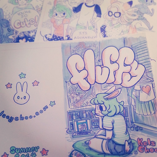 New color comic Fluffy