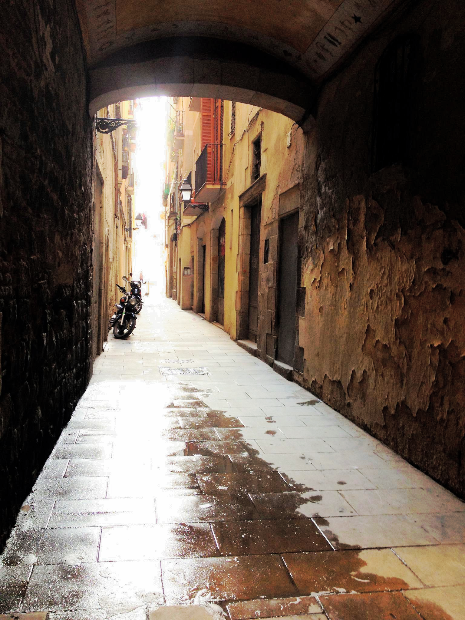 Alley way II, Barcelona