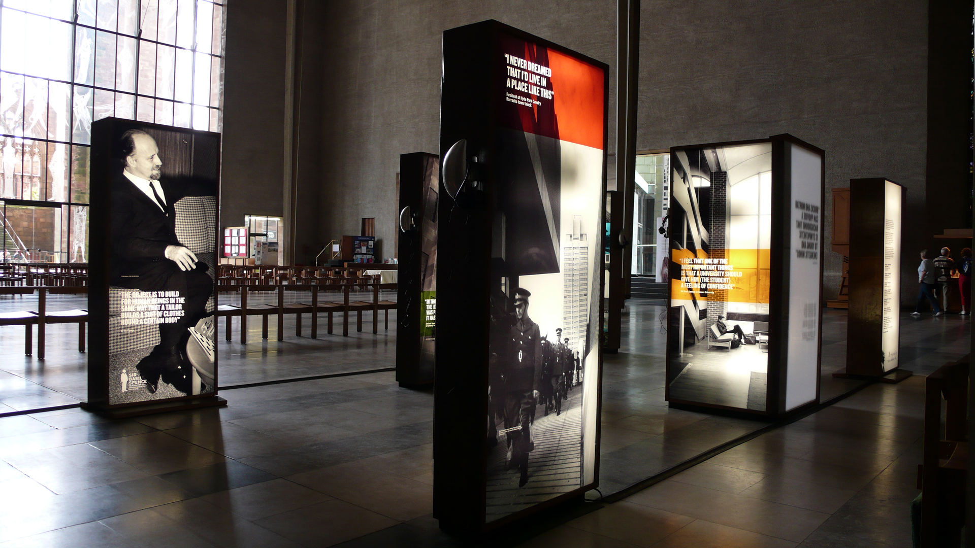 Sir Basil Spence, Travelling Exhibition