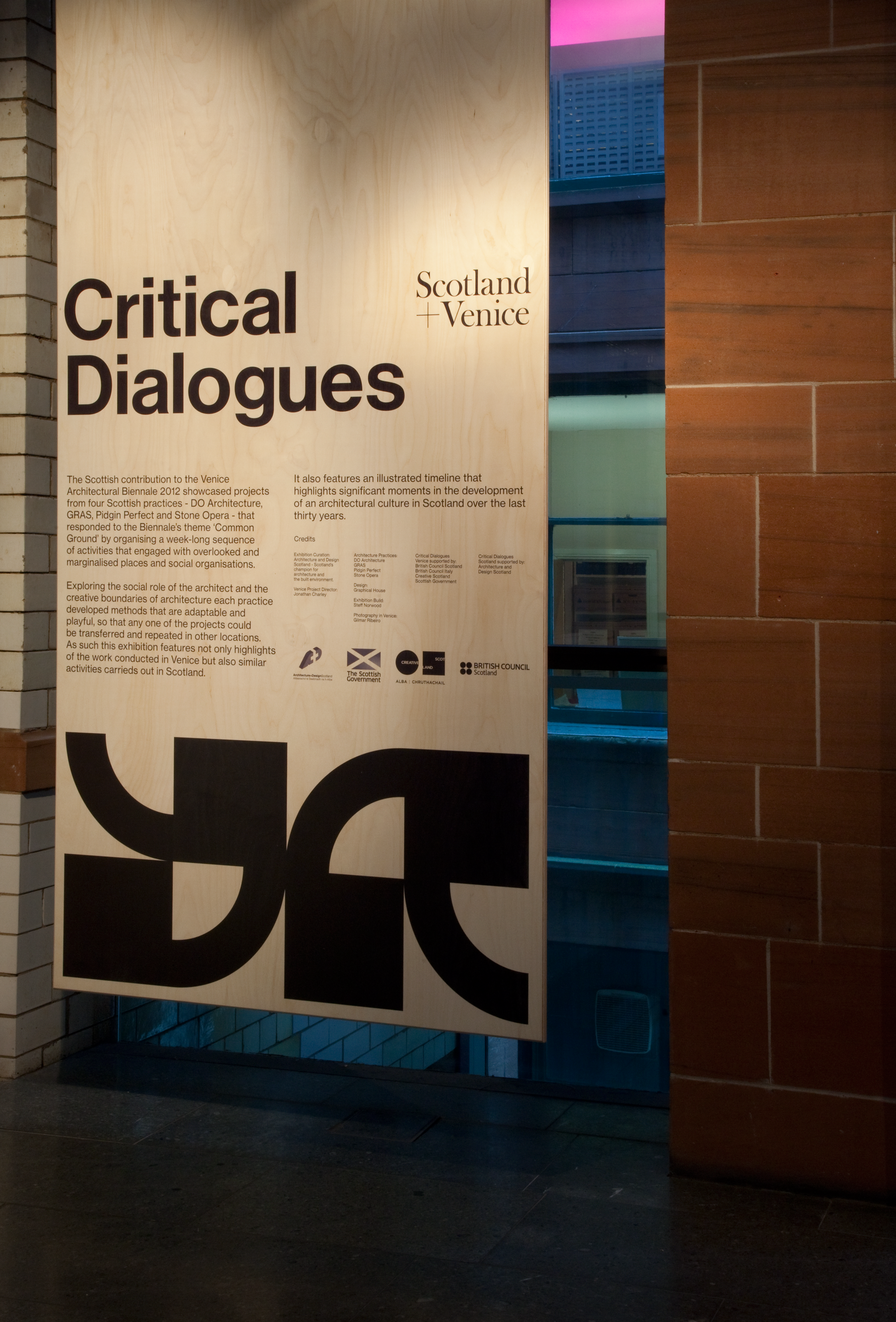 Exhibition Signage - Photo by Graphical House