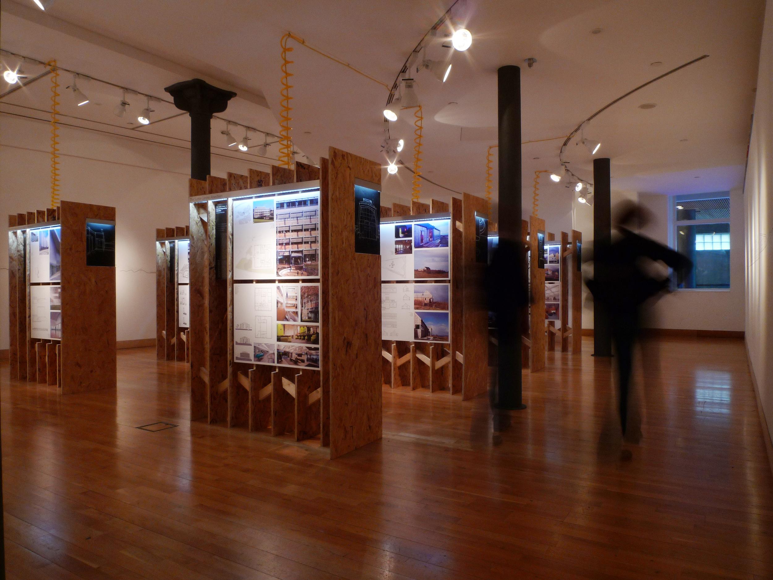 RIBA Shortlist Exhibition, Glasgow