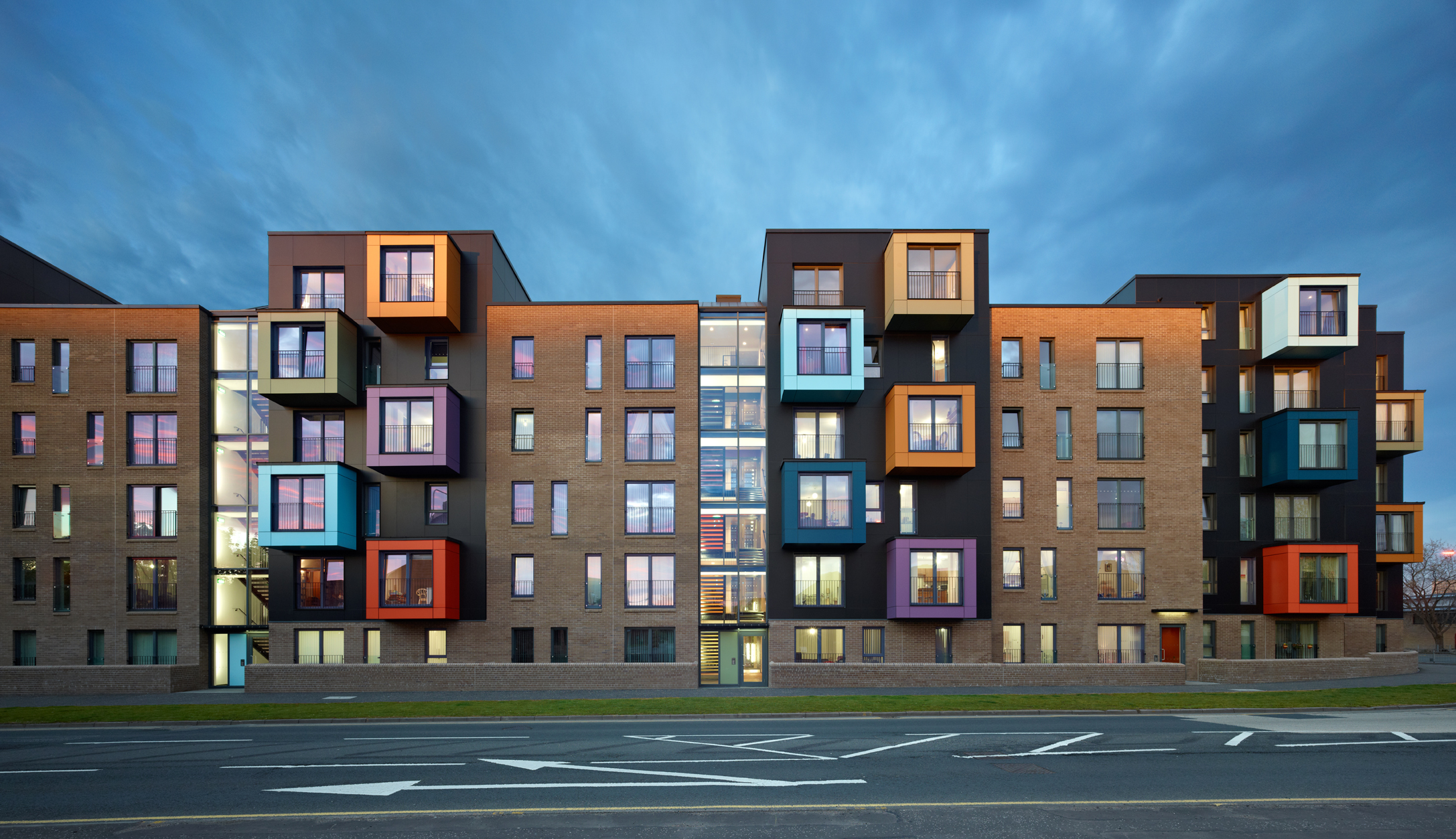 Golspie Street and Shaw Street provides 102 new homes for Govan built on a brownfield site