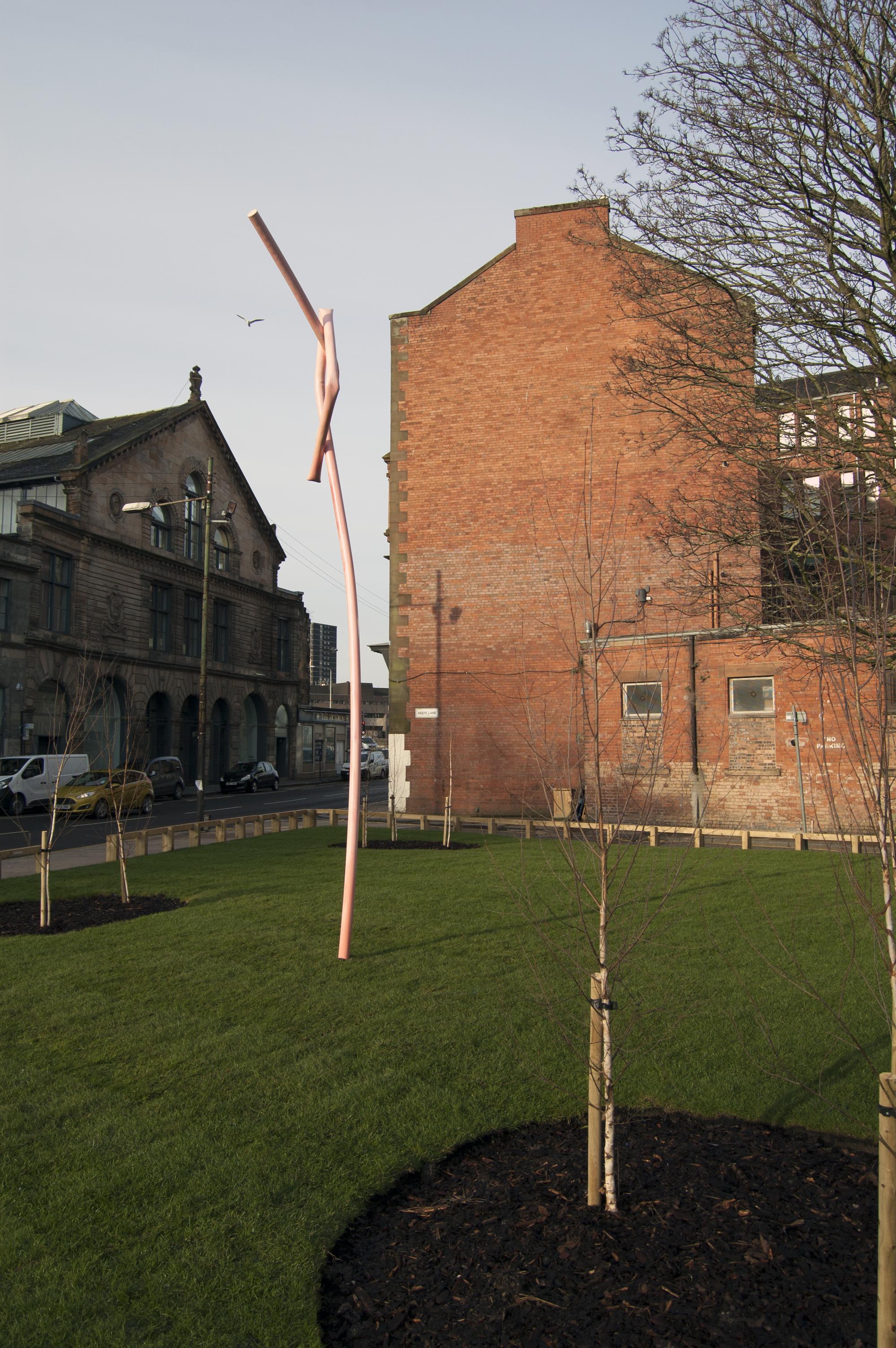 Mark Handforth, Aird's Lane, Glasgow