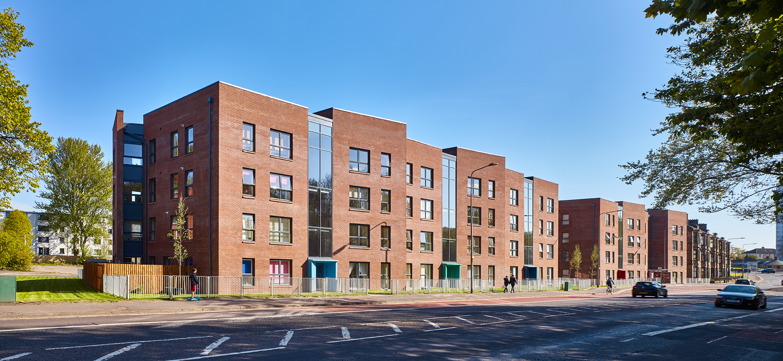 Housing at Pollokshaws, Glasgow