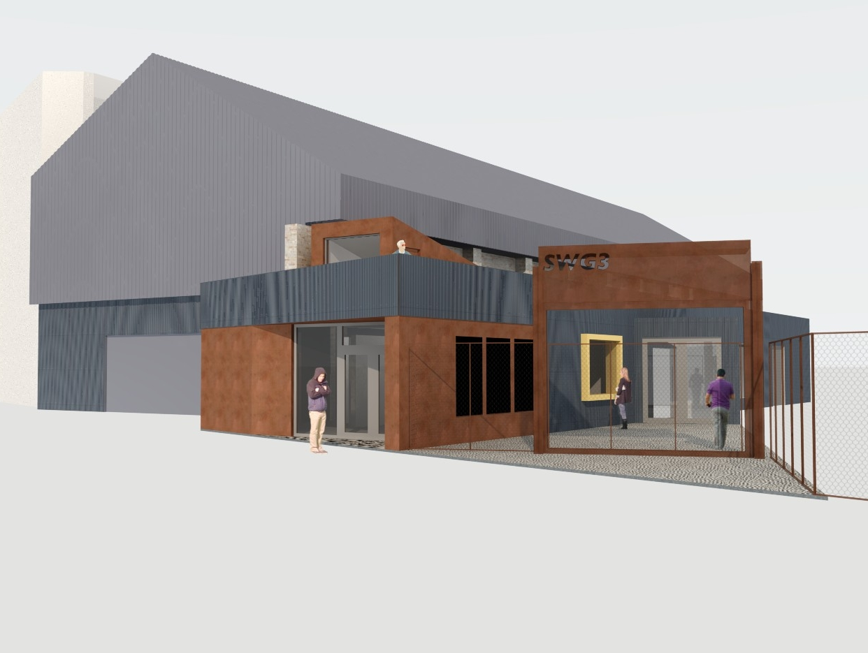 Foyer at SWG3, Glasgow