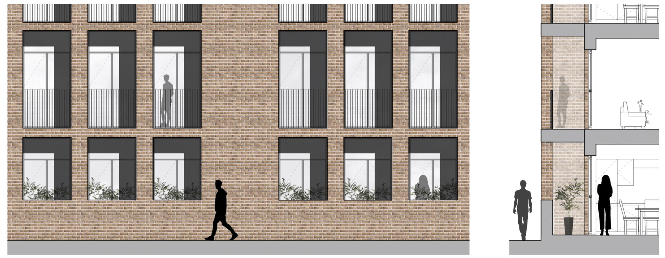 External Access Balconies