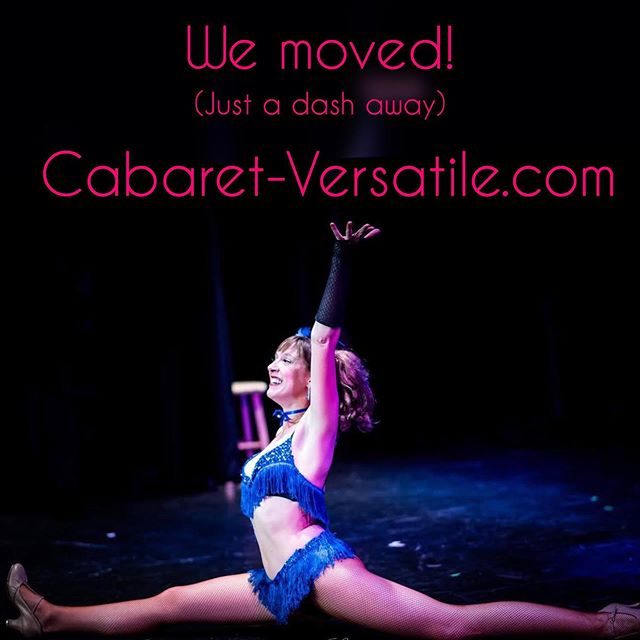 #newaddress !  Find us now at www.Cabaret-Versatile.com 💋 . . .  #movingday #french #cabaret #travelingshow #cancandancers #burlesquedancer #jubilee #moulinrouge #eventplanning #events #summerparties #greatgatsby #fabulous #s#jumpsplit #dancer