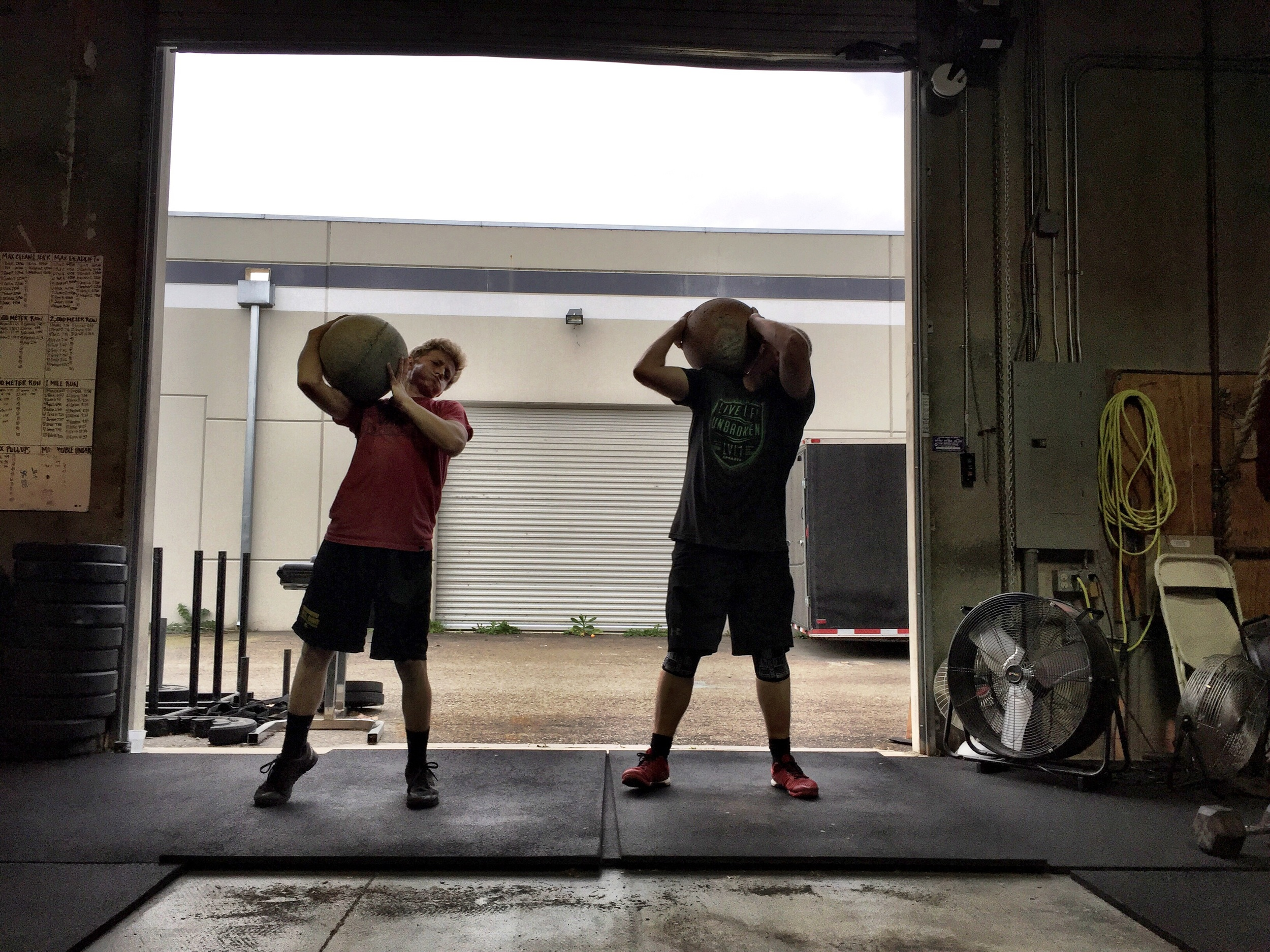 Father son death by atlas stone clean and burpee