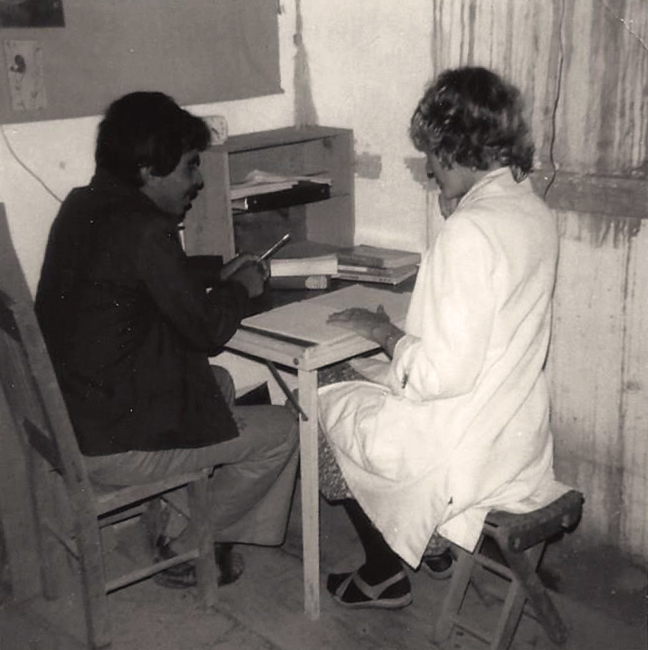 Working with a Chinantec language speaker in Comaltepec (Juventino Lopez, 1978)