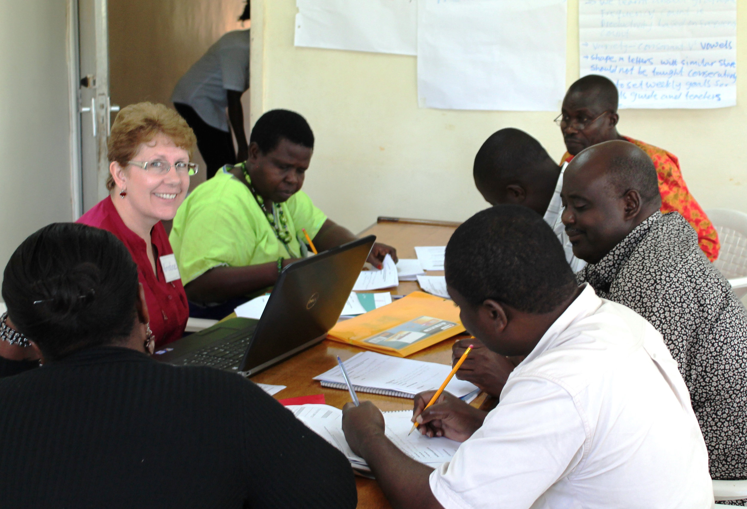 Consulting with SIL LEAD in Uganda