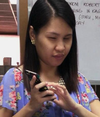 Joyce Lopez at Work