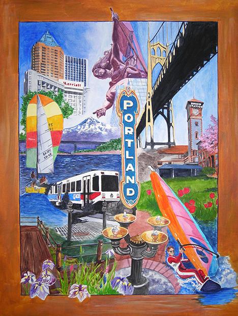 Portland Collage