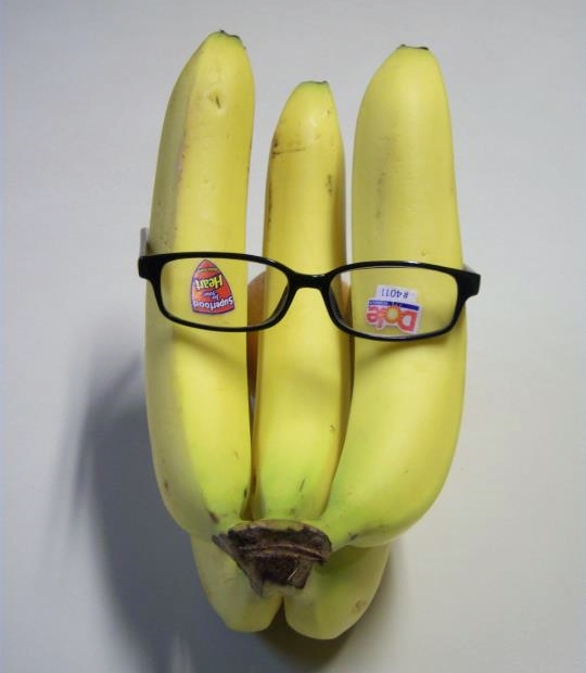 """Anon A. Mouse, on his way to a costume party dressed as the sinister Banan A. Mouse, a.k.a, """"The Left Hand"""" (of Bananas). That way, if anyone tried to expose his secret identity, he could easily just peel out and split. And give them the slip."""