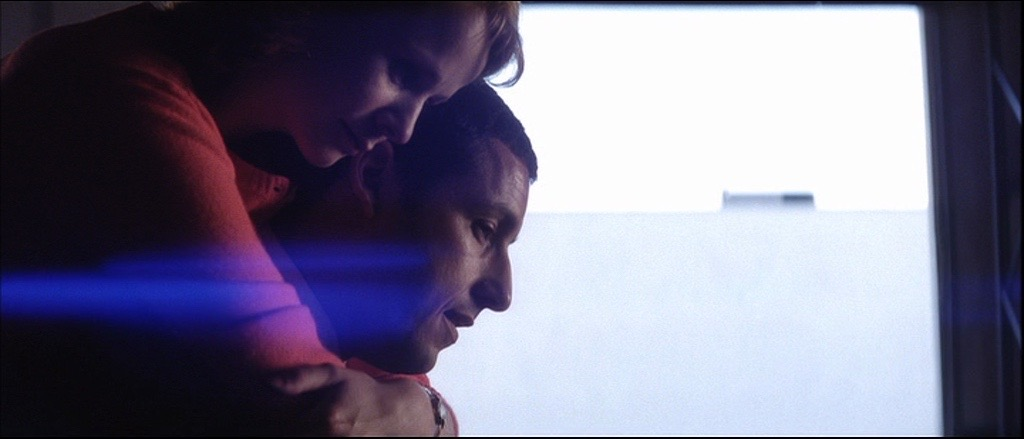Punch Drunk Love  -  This is one of my favorite films. I thought it was a good reference for SJW because of basic things like how it uses and embraces white walls and bland spaces - the kind you might find on a campus. But I like it for being an imaginative visual story that veers from satire to love story. I often think of it as a music without music. The color theory and application is fabulous. I think a film like SJW would be great with a system in place for color - although not as strictly applied as in this film.