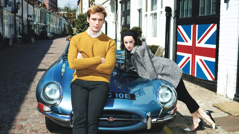 Not an actual Hunger Games image, but I like the idea of Finnick and Johanna hanging out on Carnaby Street.
