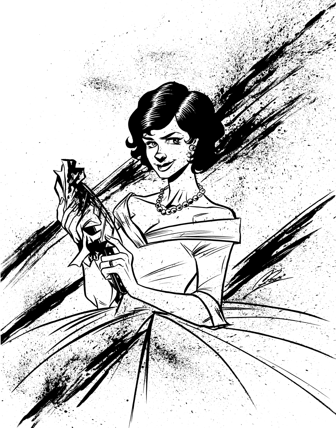 Josie from Lady Killer