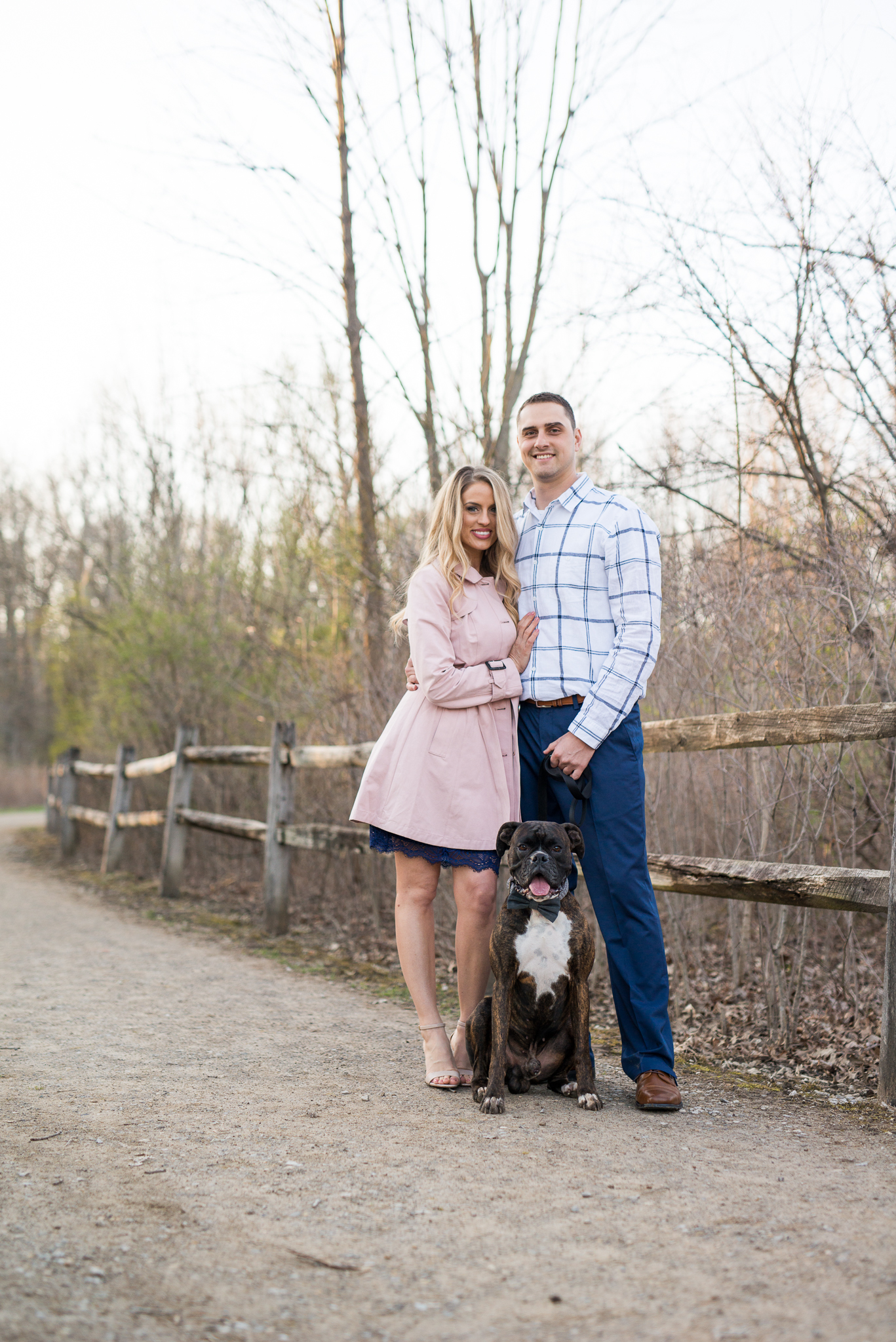 Lauren and Ty did an awesome job looking at the camera and we called Bo so that we could get the shot!