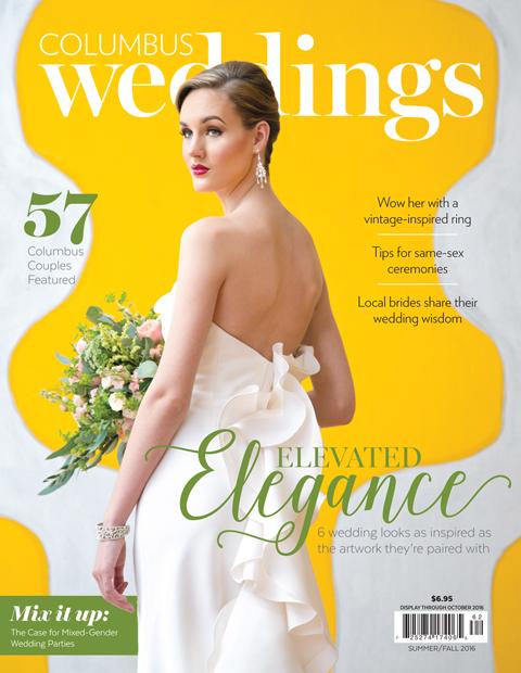 Brett Loves Elle Photography, Columbus Wedding Photographer, Columbus Wedding Magazine