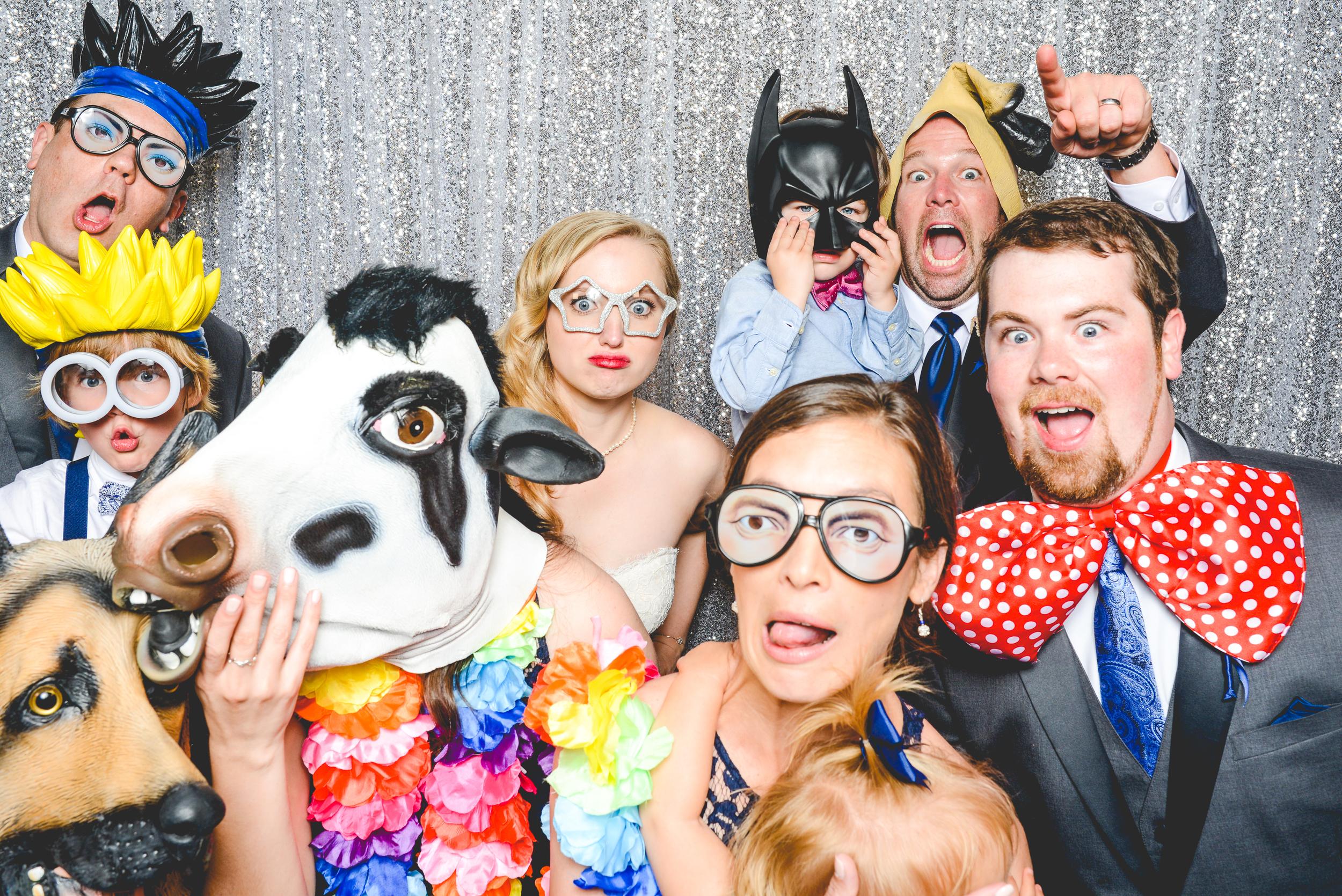 Columbus Wedding Photographers, Photo Booth