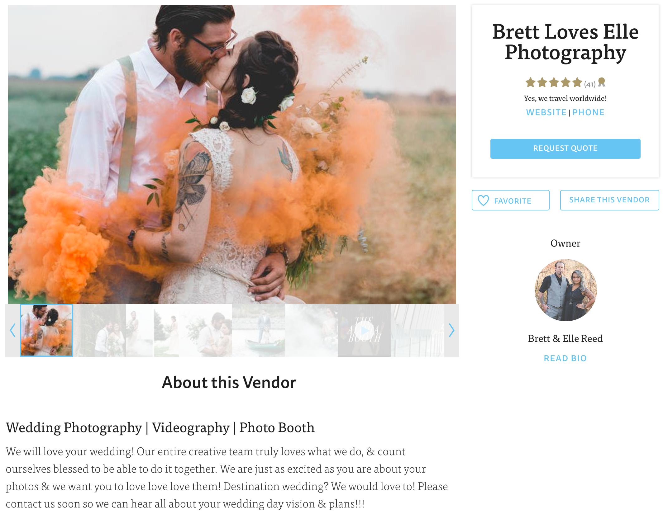 Brett Loves Elle Photography, The Knot Best of Weddings 2017, Columbus Wedding Photographers