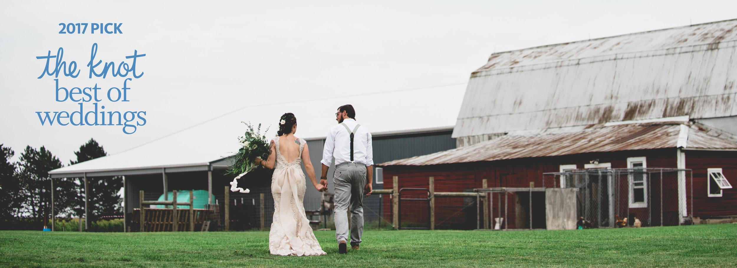 The Knot Best of Weddings 2017, Brett Loves Elle Photography