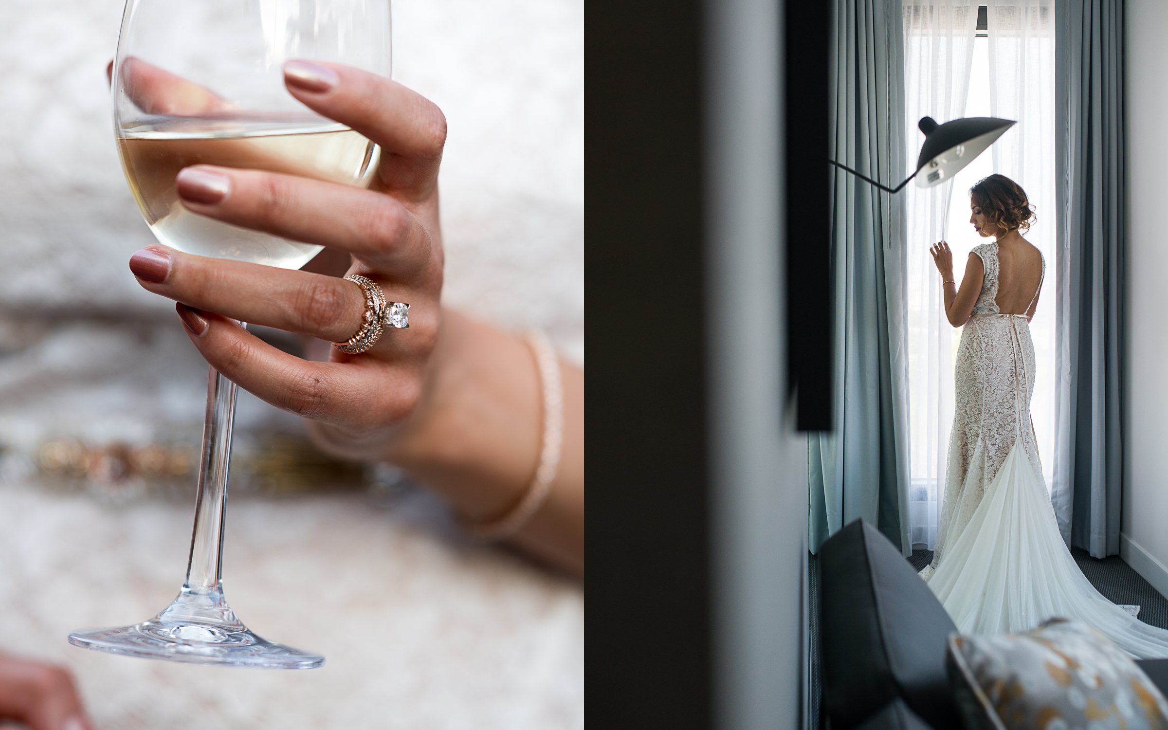 The Joseph Hotel Bridal Prep Portraits By Brett Loves Elle Photography, Columbus Wedding Photographers