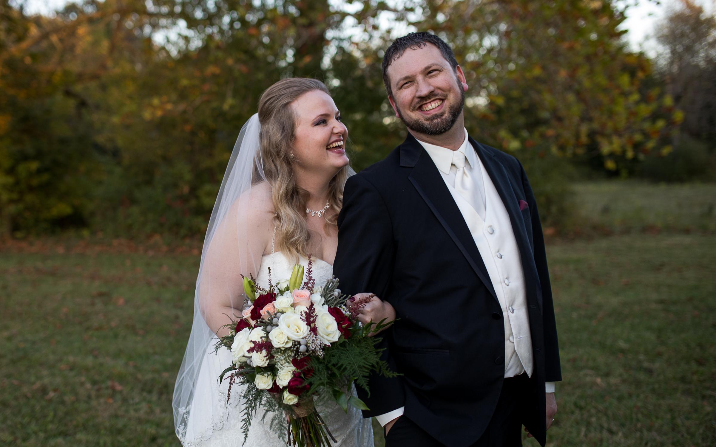 Cameron Chris Springlake Party Center Lakemore Ohio Fall Wedding Brett Loves Elle Columbus Wedding Photographers