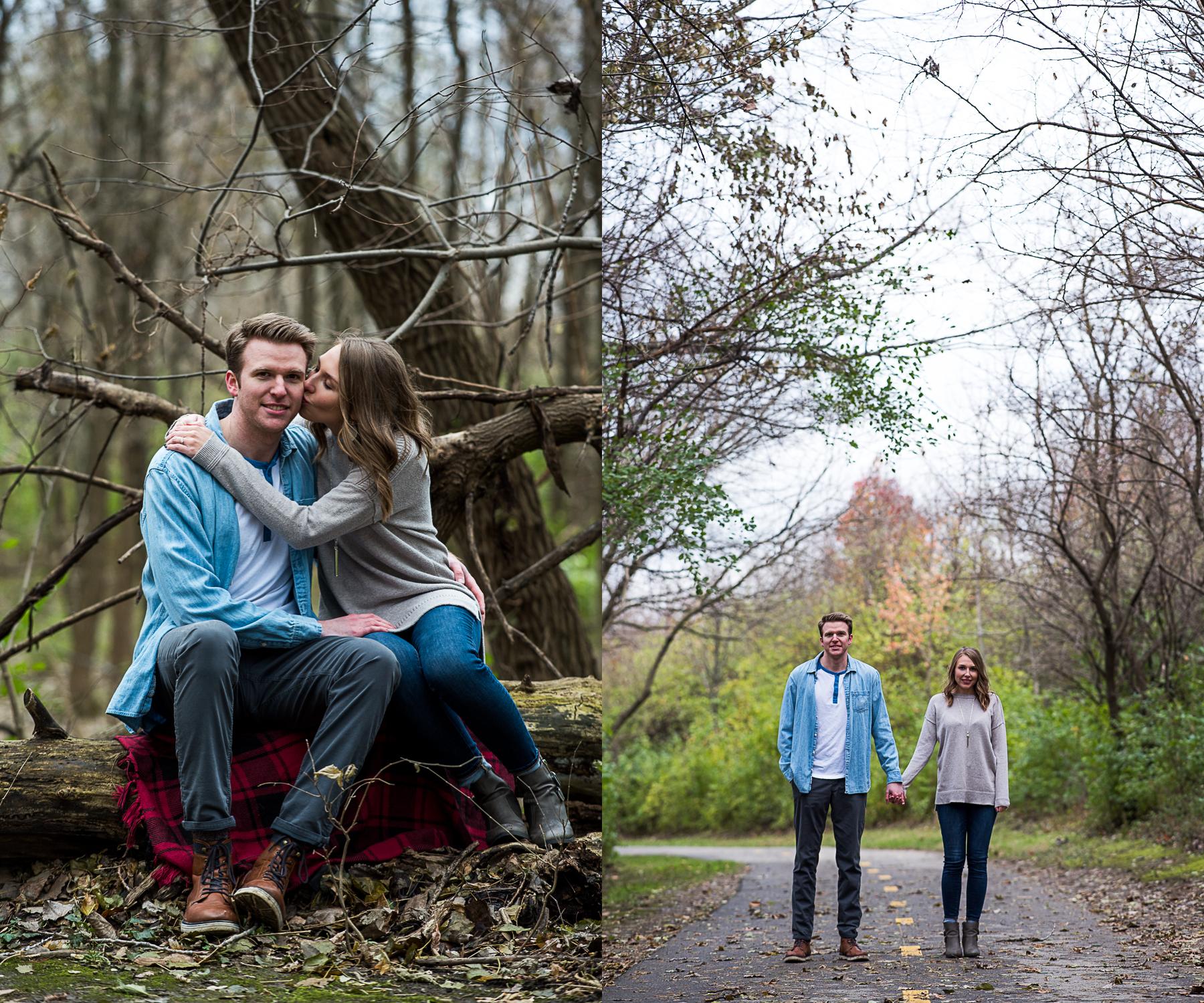 Brett Loves Elle, Columbus Fall Audubon Metro Park Engagement Session, Ohio Engagement Session, Columbus Wedding Photographer