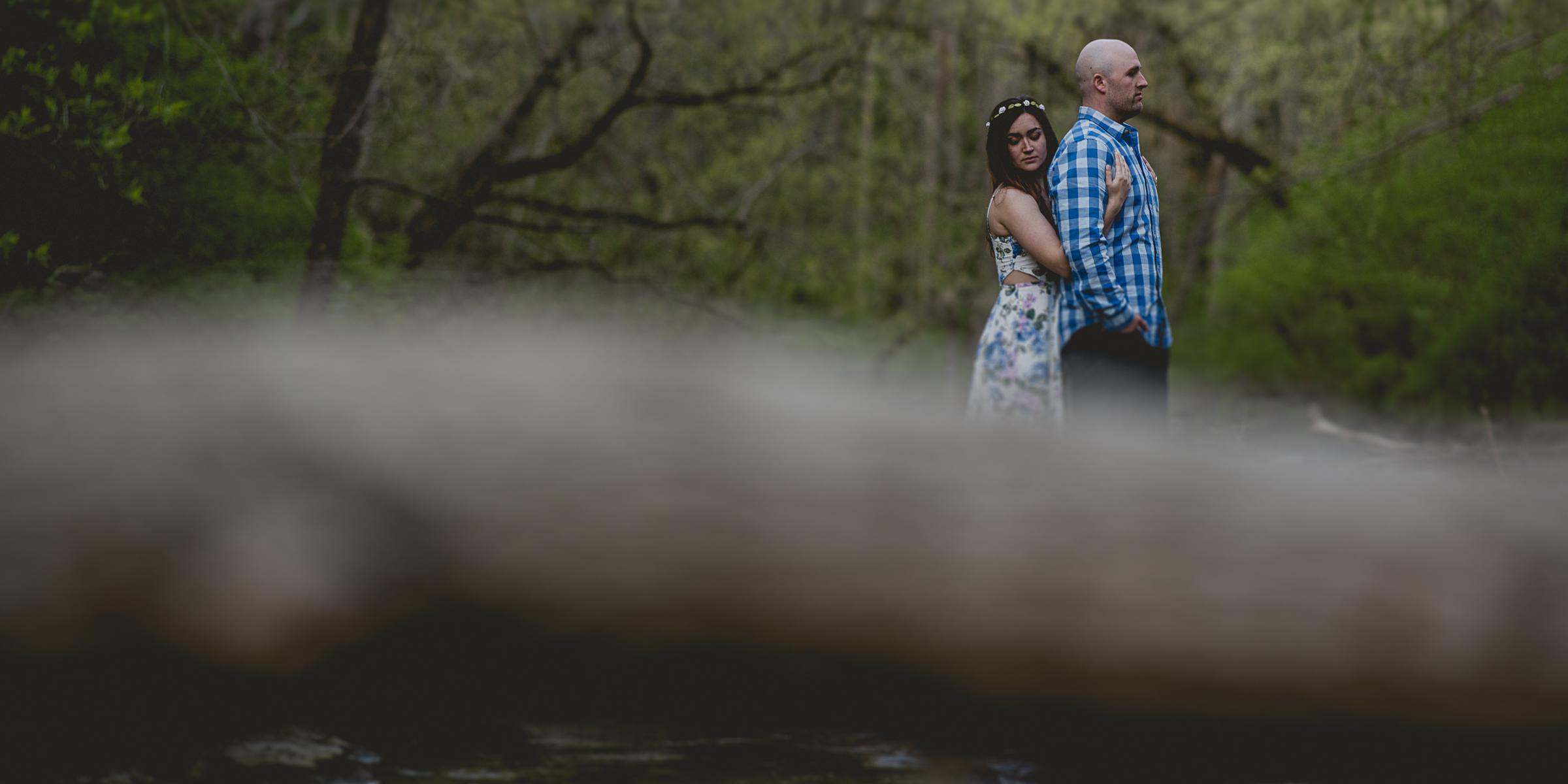 Spring Golden Hour Engagement Session By Brett Loves Elle, Columbus Wedding Photographer, Ohio Engagement Photographers